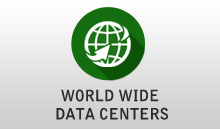 World wide data centers